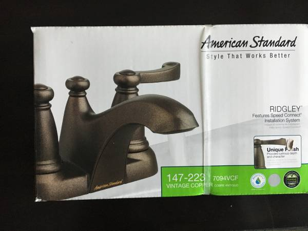Photo New American Standard Faucet - $50 (Somerset)