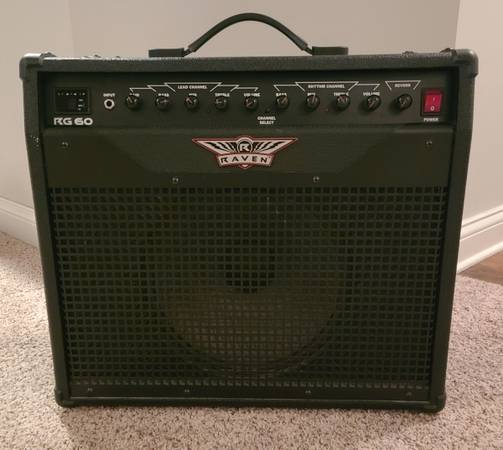 Photo Raven RG 60 Guitar Amp - $130 (Richmond)