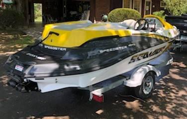 Photo Sea-Doo Jet Boat 4 seat - $12,000 (Morehead, KY)