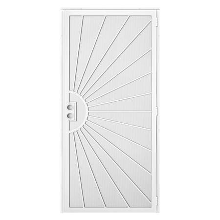 Photo Solana White Surface Mount Outswing Steel Security Door - $110 (Danville)