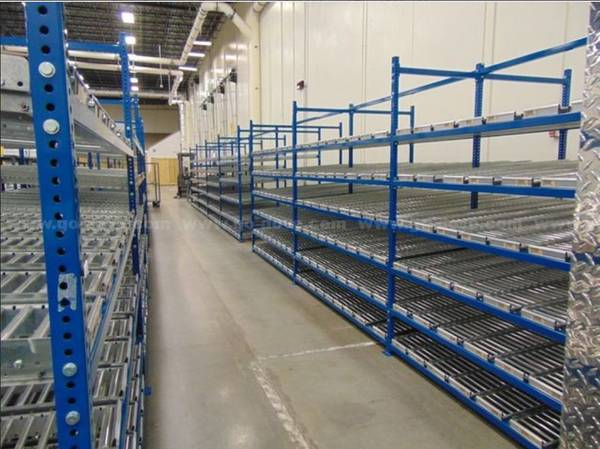 Photo UNEX Flow Rack (Roller Rack, Pallet Racking) - $65,000 (Danville, KY)