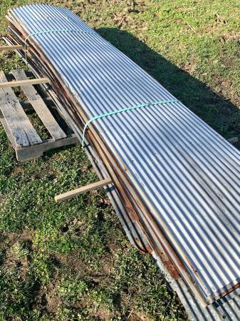 Photo Used Corrugated Barn Roofing Metal - $10 (Liberty Kentucky)