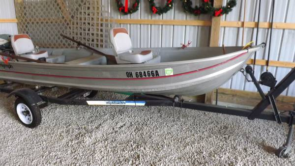Photo 14 ft. Sea Nympth fishing boat - $1,200 (Greenville)