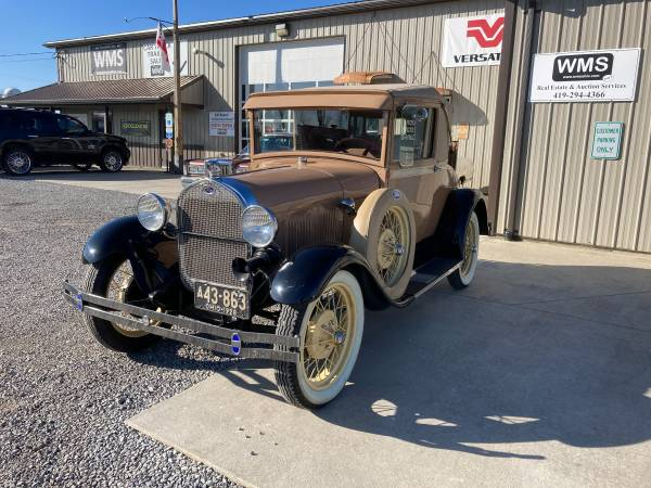 Photo 1928 Ford Model A Coupe - $14,900 (Upper Sandusky)