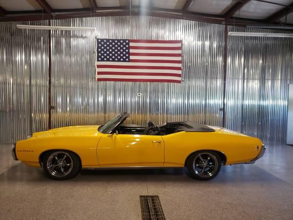 Photo 1969 Pontiac LeMans Convertible Original Engine Trans Touring Car GTO - $22500 (FINDLAY)