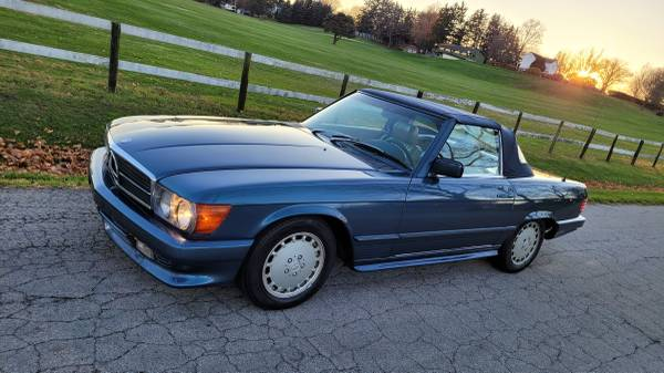 Photo 1981 Mercedes Benz 380sl 72,585 Miles - $7,900 (Upper Sandusky)