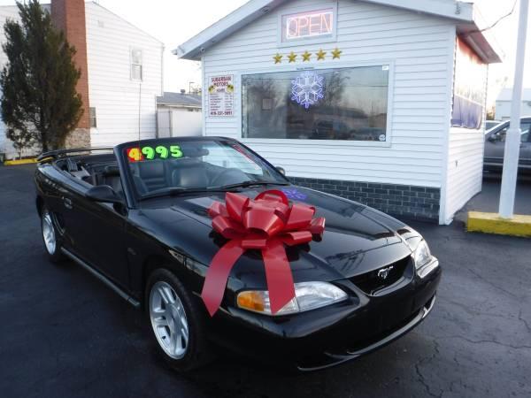 Photo 1998 MUSTANG GT - $4,995 (SUBURBAN MOTORS)