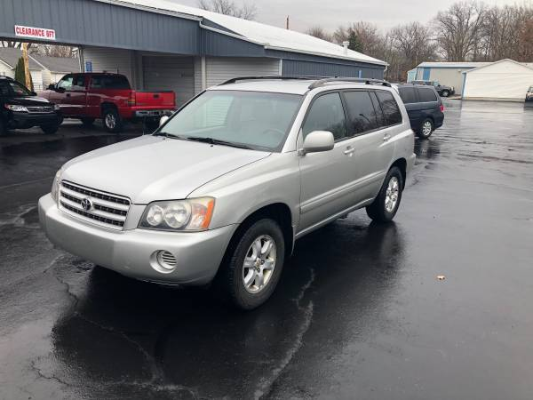 Photo 2002 Toyota Highlander - $4,295 (Lima)