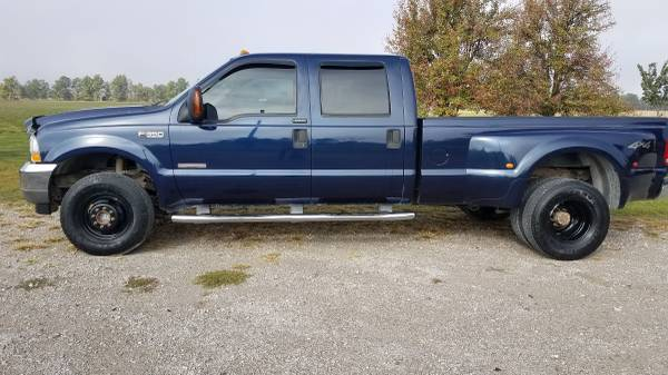 Photo 2004 Ford F350 Dually 4 door 4WD - $12,000 (Cecil Ohio)