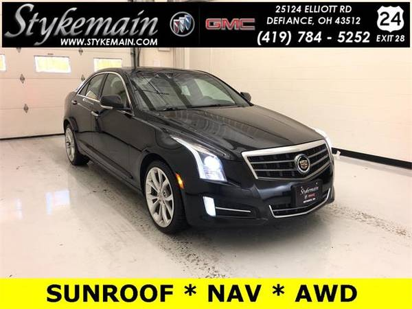Photo 2014 Cadillac ATS sedan 3.6L Premium - Black (Cadillac_ ATS_ sedan_)