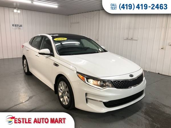 Photo 2016 Kia Optima 4d Sedan EX Sedan Optima Kia - $13,995 (2016 Kia Optima 4d Sedan EX)