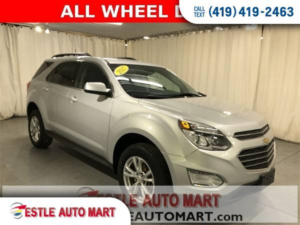 Photo 2017 Chevrolet Equinox SUV Chevy 4d SUV AWD LT Equinox - $15,995 (2017 Chevrolet Equinox 4d SUV AWD LT)
