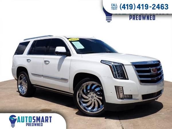 Photo 2018 Cadillac Escalade 4d SUV 4WD Premium Luxury SUV Escalade Cadillac (2018 Cadillac Escalade)