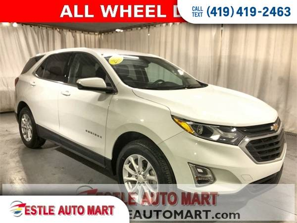 Photo 2018 Chevrolet Equinox SUV Chevy 4d SUV AWD LT w1LT Equinox - $17,778 (2018 Chevrolet Equinox)