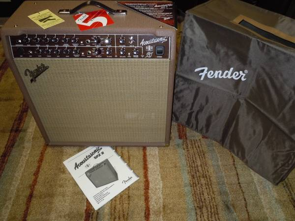 Photo Fender Acoustasonic SFXII Acoustic  PA - $300 (Lima, Ohio area)