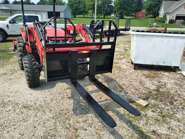 Photo Forklift forks for Skid Steer or tractor - $550