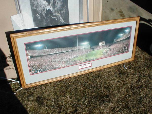 Photo Framed Ohio State Buckeyes Football 1999 Night Game Picture - $75 (Findlay)