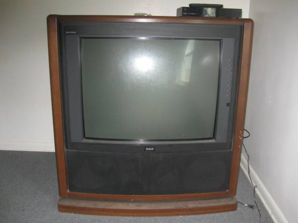 Photo Free to good home-Console TV (Lima)
