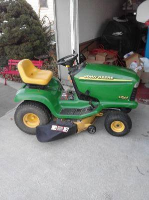 Photo JOHN DEER LT155 $300. - $300 (Convoy, Ohio)