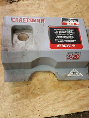 Photo craftsman snow blower (parts) (lima area)