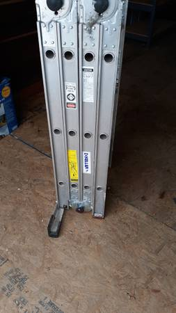 Photo 12 ft folding ladder mask required - $115 (Lincoln, NE)