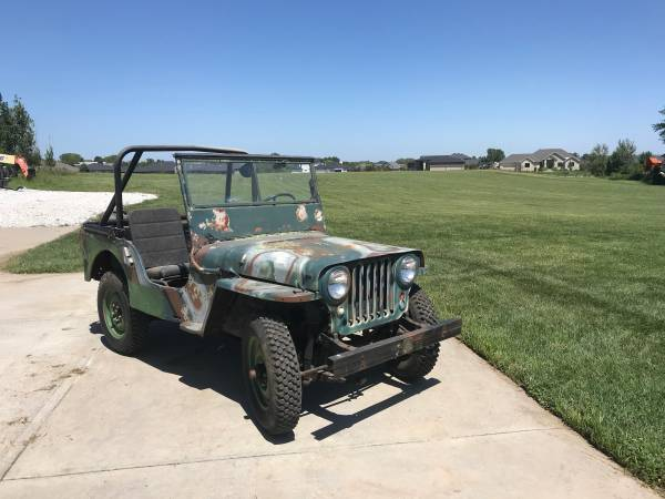 Photo 1948 CJ2A WILLYS JEEP - $3,400 (LINCOLN)