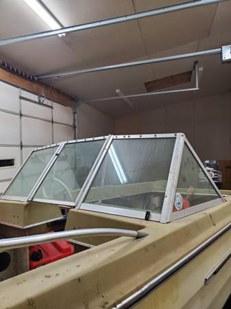 Photo 1971 Glassmaster tri hull project boat - $800 (York)