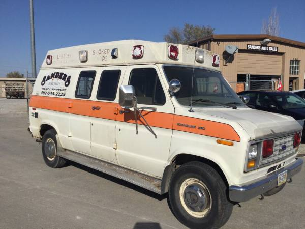 Photo 1987 FORD E350 (MOBILE BUSINESS) 74,000 MILES - $4,000