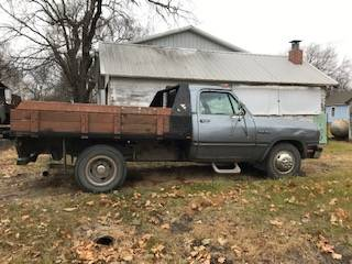Photo 1991 Dodge 1 Ton - $3500 (Blue Springs, NE)