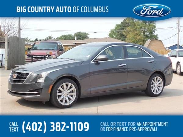 Photo 2018 Cadillac ATS Sedan 4dr Sdn 2.0L AWD - $23,500 (_Cadillac_ _ATS Sedan_ _Sedan_)