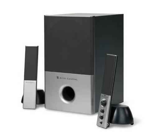 Photo Altec Lansing VS4121 2.1 Computer Speaker System, 3 Piece - $69 (Lincoln)
