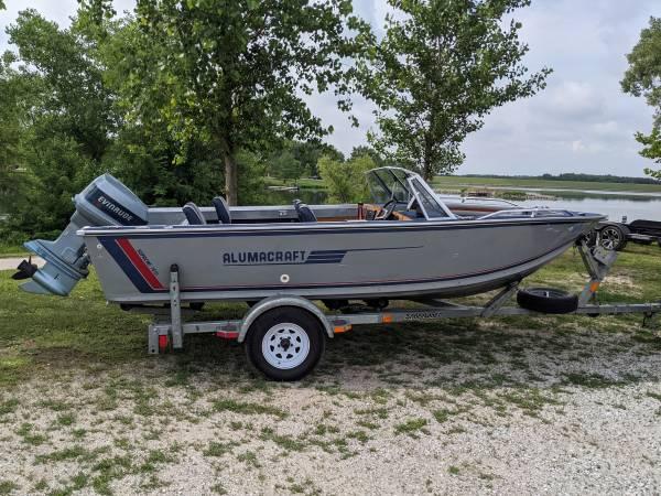 Photo Alumacraft Supreme 1610 Fishing  Skiing Boat - $11,500 (Lincoln)