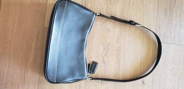 Photo Black Coach shoulder bag - $40 (SE Lincoln)