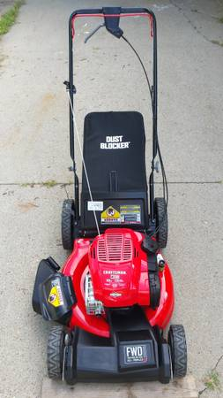 Photo Craftsman M230 21-Inch FWD Self-Propelled High Wheel Lawn Mower - $260 (Lincoln)