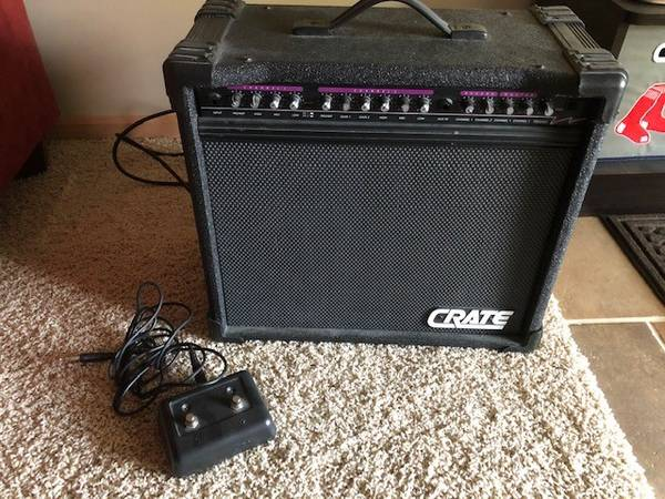 Photo Crate Stealth GT-50 Lee Jackson Guitar Amp - $325 (Omaha)