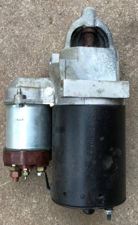 Photo Dixie Electric LTD S-1371 Starter Motor With Solenoid - $40 (NW Lincoln)