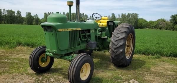 Photo John Deere 4010 row crop, propane tractor - $6,950 (Gretna)