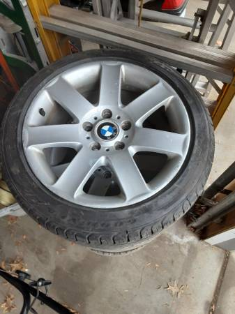 Photo Like NEW 22545R17 Goodyear Eagle Sport Tires 3,5,6,7 Style 44 BMW - $350 (Lincoln)