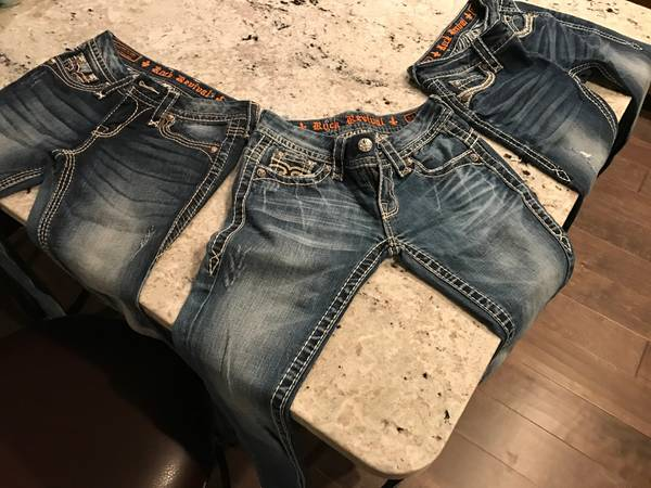 Photo Rock Revival jeans - $50 (nw lincoln)