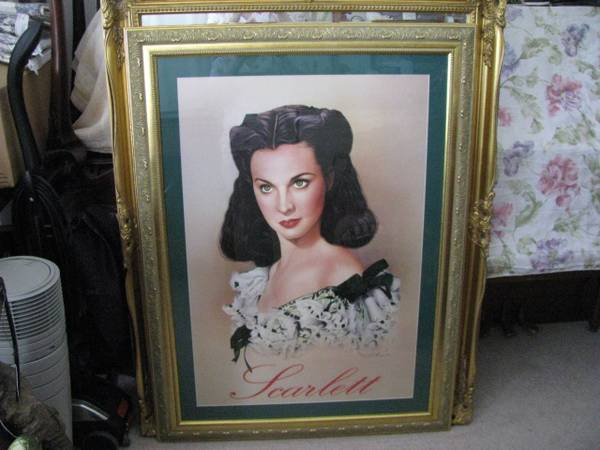 Photo Scarlett from Gone with the Wind Frame the Poster - $80 (Lincoln)
