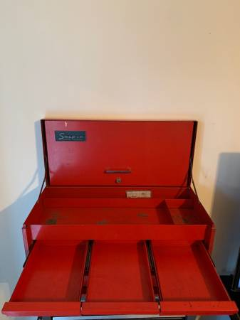 Photo Snap-On Tool Box - $350 (Lincoln)
