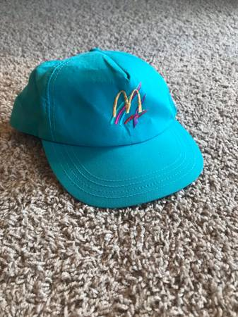 Photo Vintage McDonalds Hat - $5 (Lincoln)