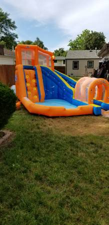 Photo Water Park Pool with Slide - $430 (LINCOLN)