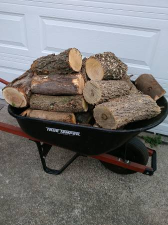 Photo Wheelbarrow(s) Full Of Firewood Delivered In Lincoln - $25 (Lincoln)