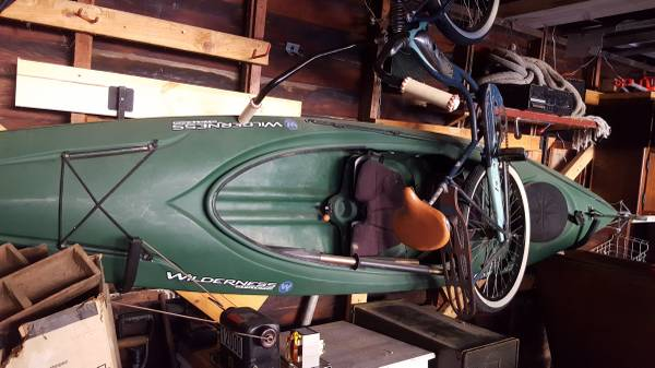 Photo Wilderness Systems Pamlico 120 12ft Kayak - $350 (lincoln)