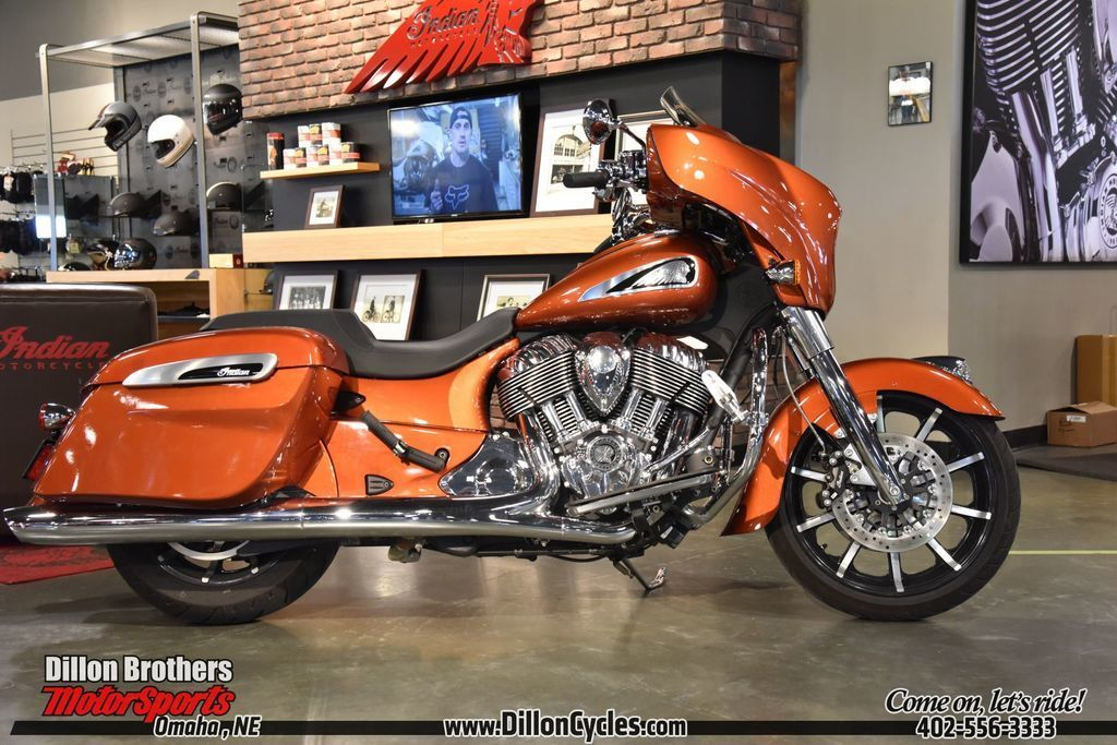 Photo 2019 Indian Motorcycle Chieftain Limited Icon Series Burnt Orange Metallic $23980