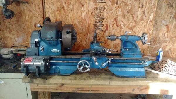 Photo craftsman metal lathe - $900 (lincoln)