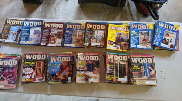 Photo 107 Better Homes And Garden WOOD Magazines DYI Projects Woodworking - $45 (Jacksonville)
