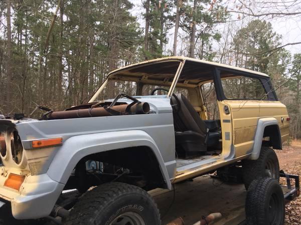 Photo 1983 Jeep Cherokee Chief - $1,200 (Shirley)