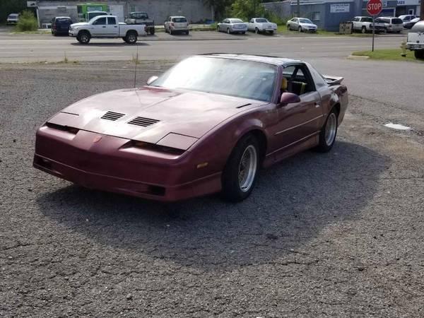 Photo 1989 Pontiac trans am gta (tag)--camaro iroc z - $4500 (Russellville)